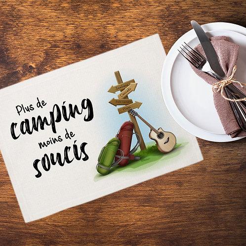 Collection camping - Plus de  camping, moins de soucis