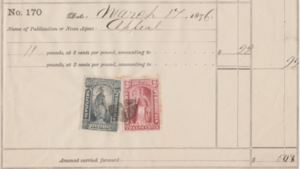 Newspaper Stamps- What and Why?