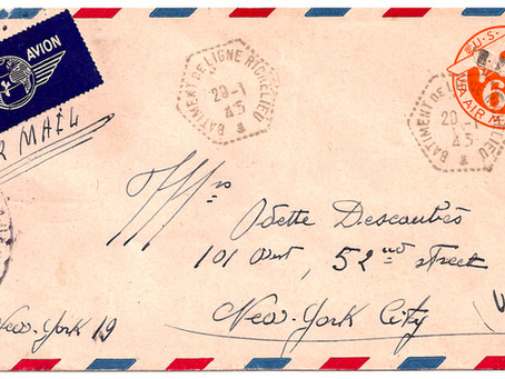 """""""R.F."""" Overprints on U.S. Postal Stationery, WWII & Our Newest Expert"""