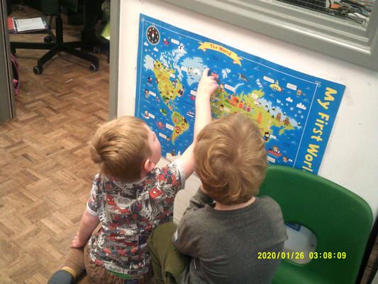 Looking at map.JPG