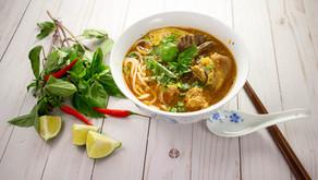 Spicy Vietnamese Beef Noodle Soup
