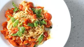 My Simple Tomato Basil Pasta