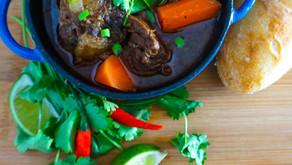 Simple Vietnamese Oxtail Stew (Bo Kho)