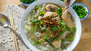 A Easy and Tasty Vietnamese Chicken Noodle Soup