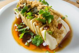 Century Egg Tofu with Pork Floss Salad (5 of 7)