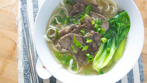 How to make Clear Beef Bone Broth Noodle Soup