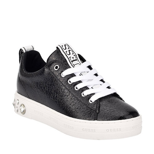 GUESS  RIVET LACE UP SNAKERS