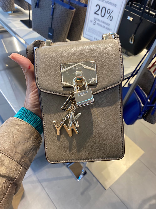 DKNY CHAIN PHONE CROSSBODY
