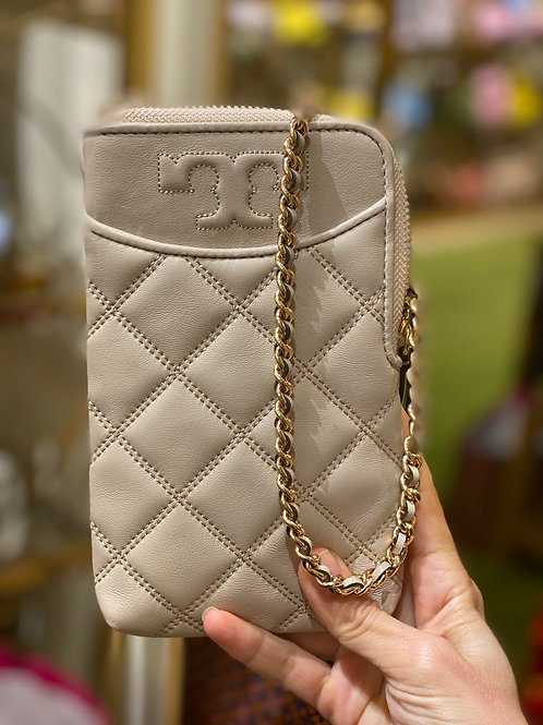 TORY BURCH SAVANNAH CHAIN PHONE CROSSBODY