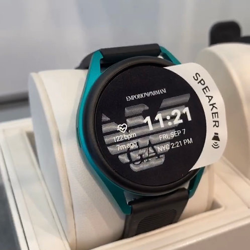 ARMANI CONNECTED SMARTWATCH