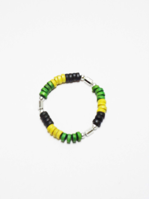 Show Off Your Love And Pride For Jamaica Wiith This Bracelet Chain Combo Set Great Any Event To Highlight Connection With The Island