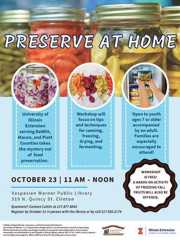 Preserve at Home!