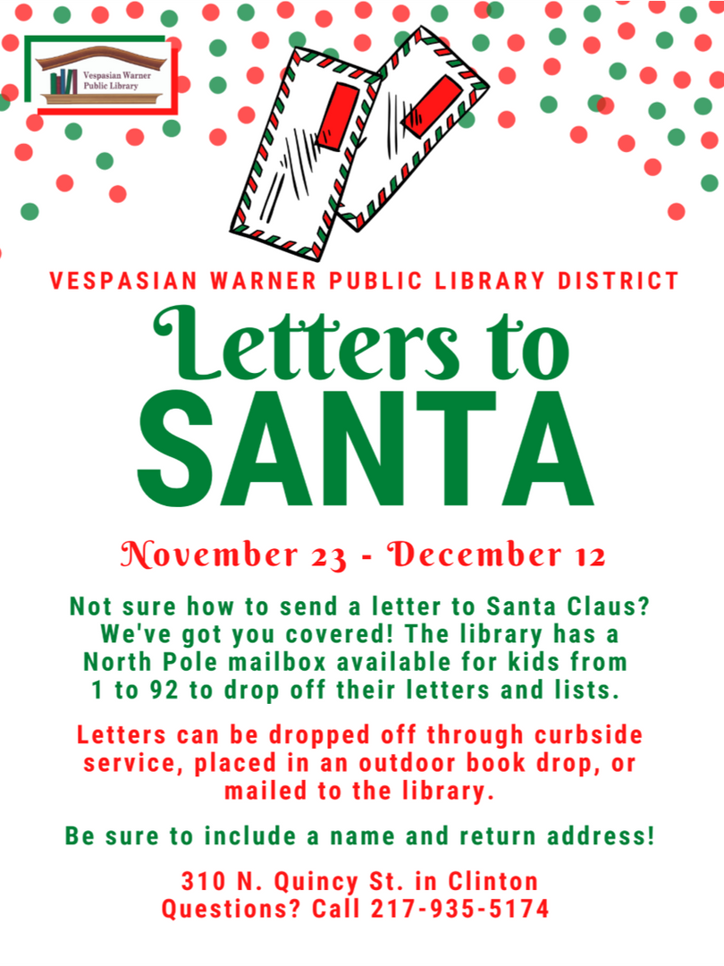 Letters To Santa!!
