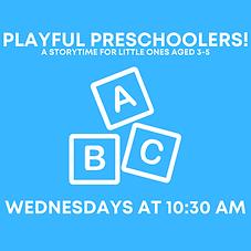 Playful Preschoolers!