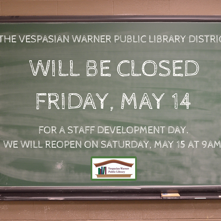 Library Closed!