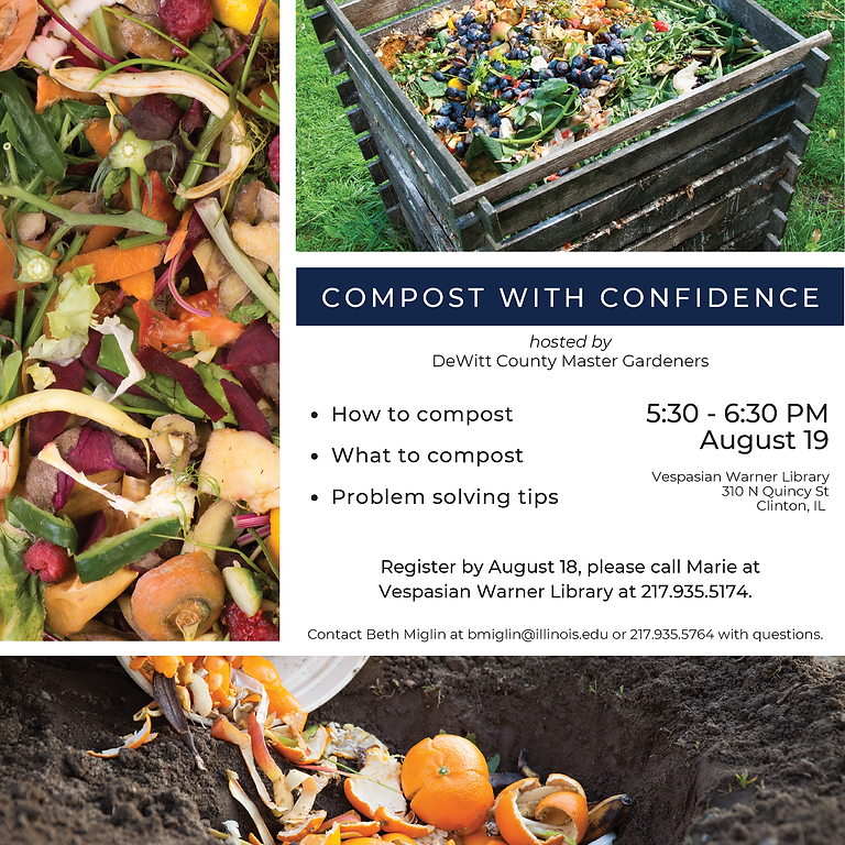 Compost with Confidence!