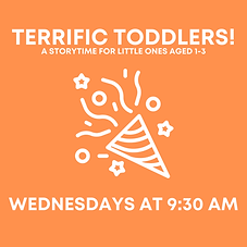 Terrific Toddlers!