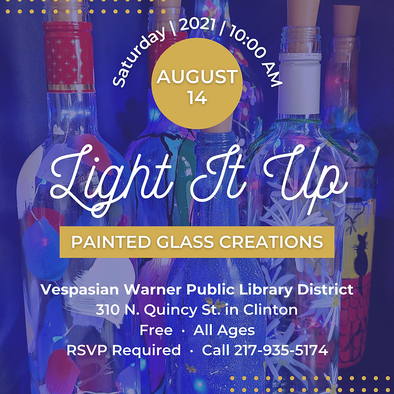 Light It Up: Painted Glass Creations!