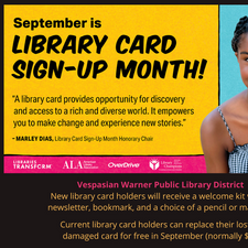 Library Card Sign-Up!
