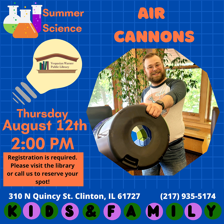 Summer Science: Air Cannons!