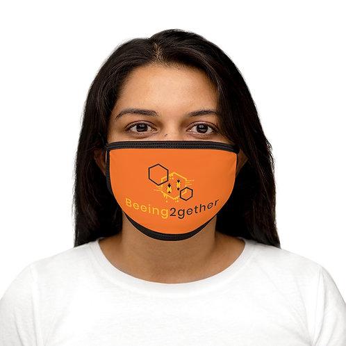 Mixed Face Mask-Fall Orange