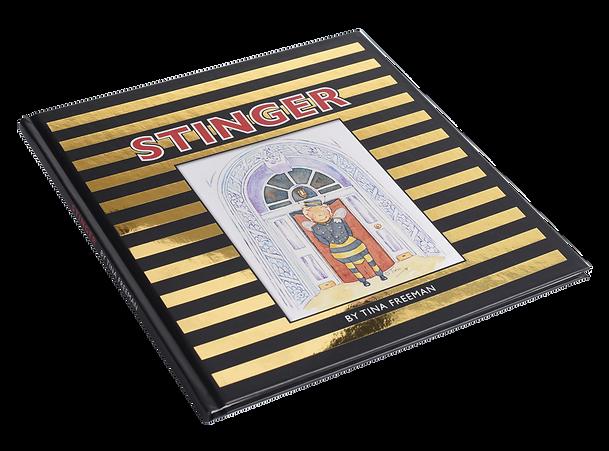 Stinger Hardback Book.png