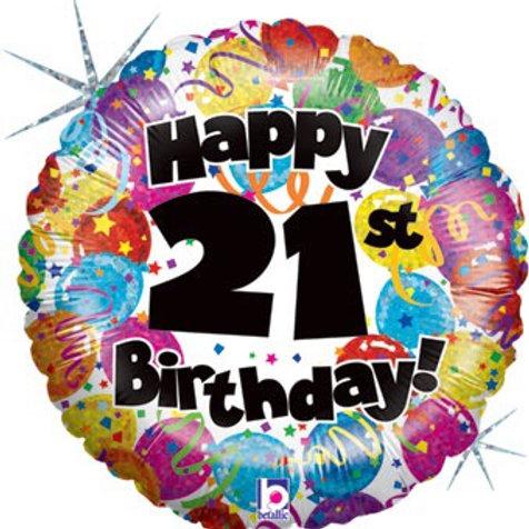 18C HB 21ST PARTY (HOLO) happy birthday