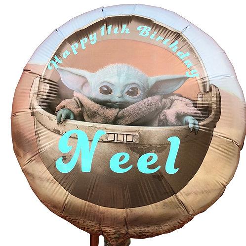 "18"" StarWars  foil ballon"