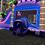 Thumbnail: Mega Tropical Purple Marble Water Slide Bounce House Combo