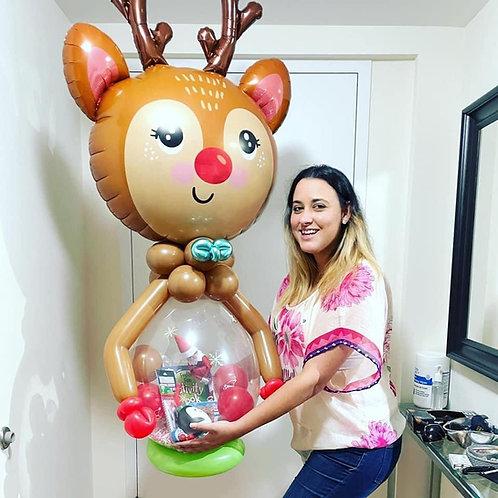 Stuffed deer balloon