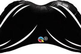 """XL Mustache suprafoil foil balloons 42"""""""