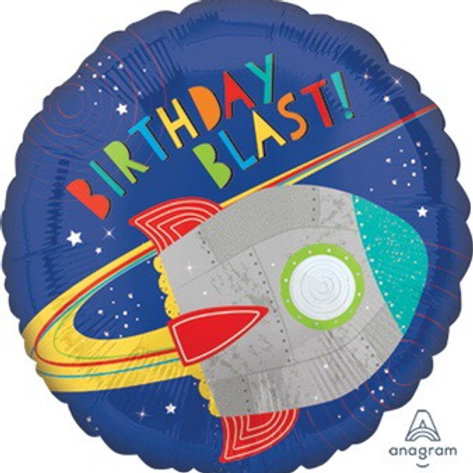 18C BIRTHDAY BLAST ROCKET space ship