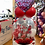 Thumbnail: Kids Valentine stuffed balloon with candy and teddy