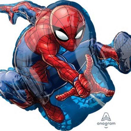 "Large 29""  SPIDER-MAN  spiderman superhero balloons"