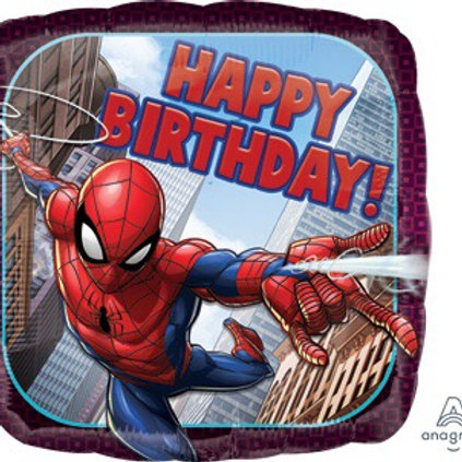 "Standard 18"" SPIDER-MAN spiderman superhero balloons"