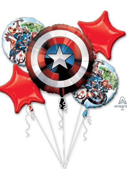 BOUQUET AVENGERS SHIELD captain America hulk Thor