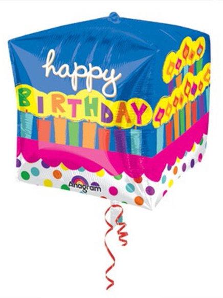 CUBEZ HB CAKE happy birthday