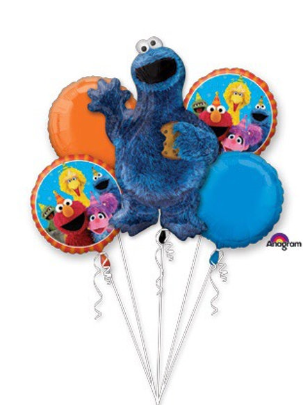 Elmo BOUQUET COOKIE MONSTER Sesame Street