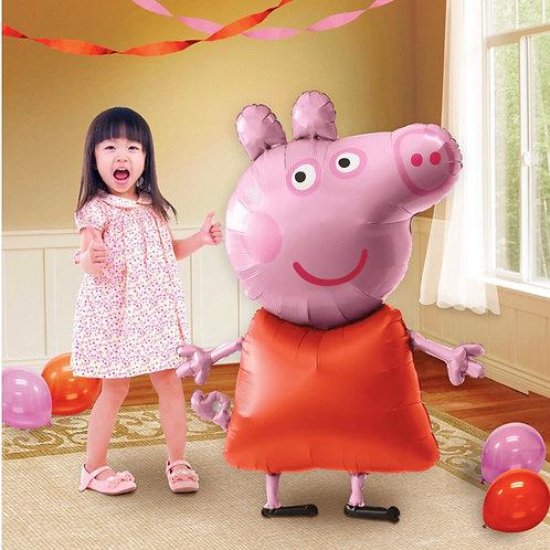 Peppa pig airwalker balloon