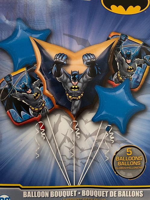 Batman  Bouquet Foil balloons set SUPERHERO