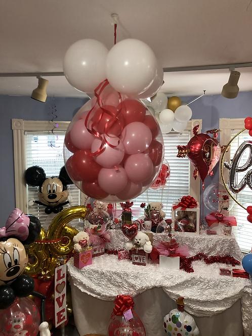 Love balloon pop drop.