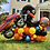 Thumbnail: Monster truck hot wheels birthday display