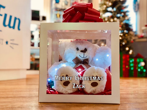 Personalized Led Super cuddly bear w/ Van Otis Truffles