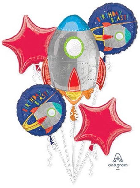 BOUQUET HB BLAST OFF happy birthday space ship