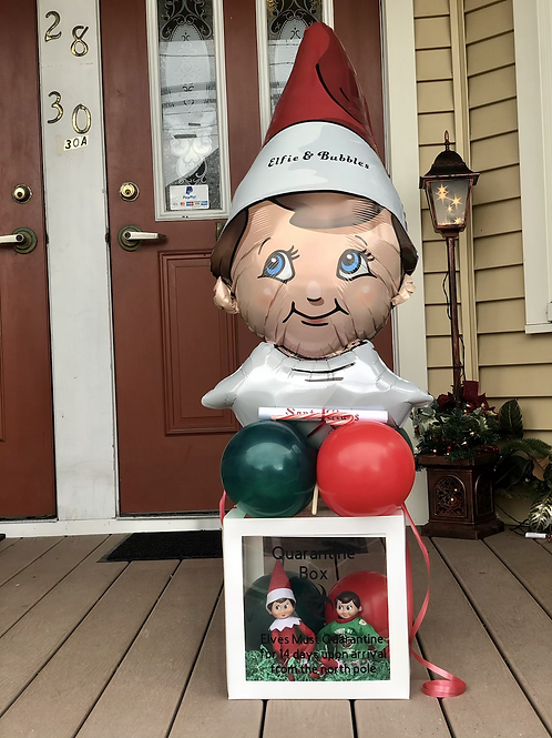 LED Elf on the shelf Quarantine Box