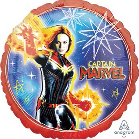 "Standard 18"" CAPTAIN MARVEL superhero balloons"