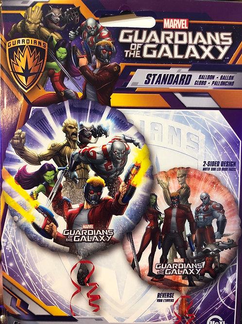 "Standard 18"" Guardians of the galaxy superhero  balloons"