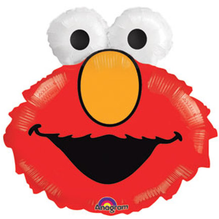 "ELMO HEAD 20"" Sesame Street balloon"