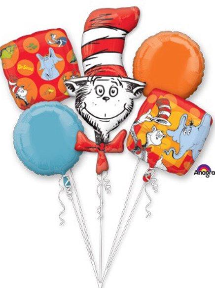 BOUQUET DR. SEUSS balloon