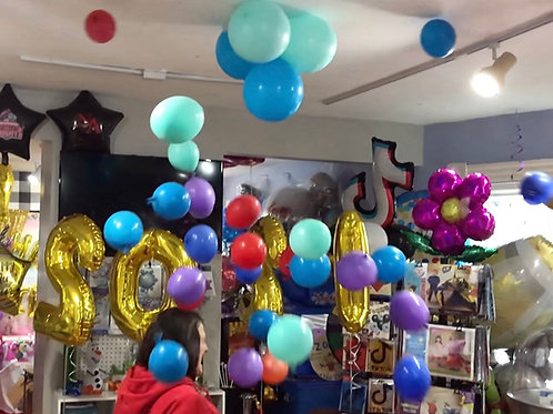 30ct balloon drop